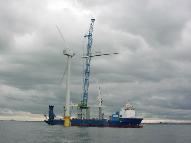 Steel structure of offshore wind power