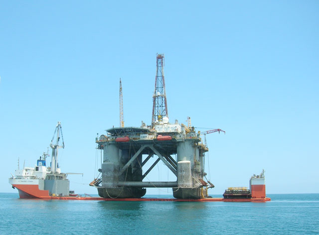 Steel structure of offshore marine