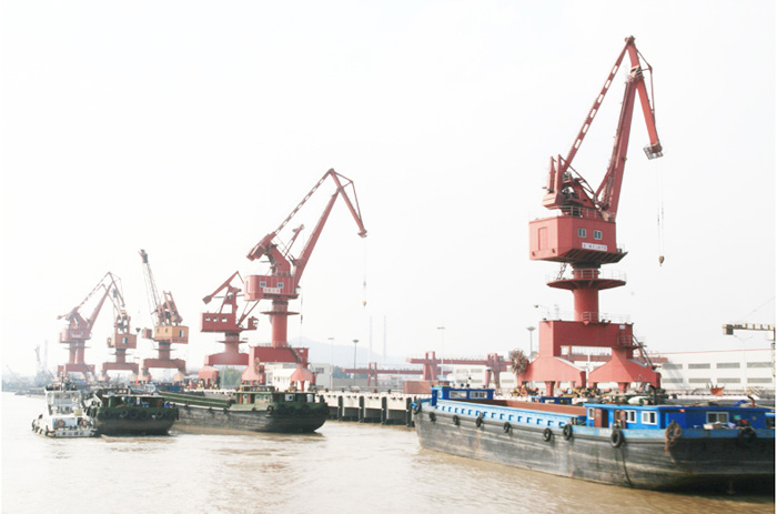 River Port Construction