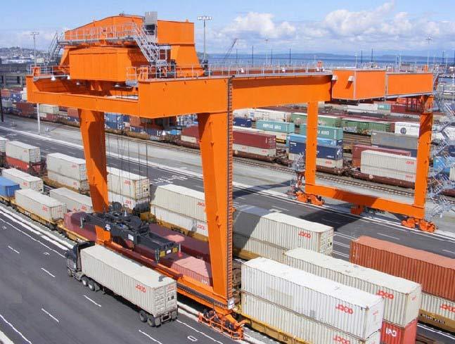 RMG crane